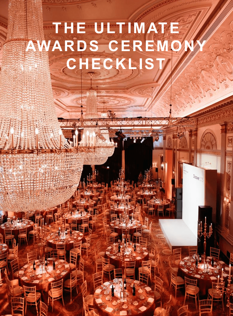 The Ultimate Awards Ceremony Checklist