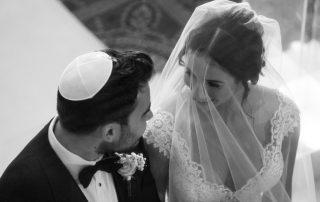 Jewish wedding in the city