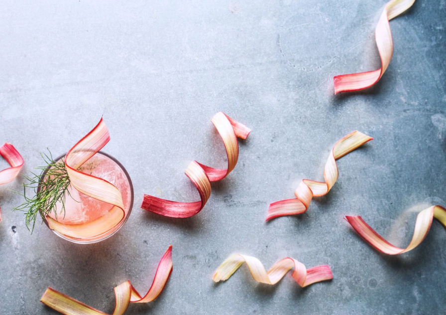 Rhubarb, Fennel & Vermouth Cocktail